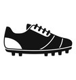 running boots icon simple style vector image vector image