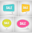sale banners set vector image vector image