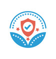 security or protection award icon- protection sign vector image vector image