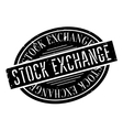 Stock Exchange rubber stamp vector image vector image