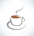 tea cup symbol vector image