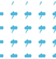Unique Storm seamless pattern vector image vector image