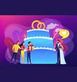 wedding party concept vector image