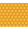 Abstract background honeycomb vector image vector image