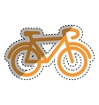 Bicycle cyclism sport vector image vector image