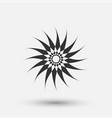 Creative icon - sun decorative element
