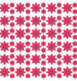 pink flower seamless pattern design vector image