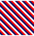 red white blue line pattern design image vector image