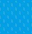wooden door pattern seamless blue vector image vector image