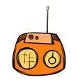 boom box icon cartoon vector image