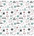 geometric scandinavian seamless pattern abstract vector image
