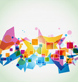 colorful eps10 background vector image