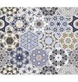 Eastern seamless pattern tiles vector image