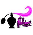 fashion perfum vector image vector image