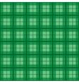 Green Tartan Background vector image vector image