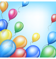 Holiday backgrounds with balloons vector image vector image