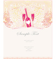 invitation to cocktail party menu or bar card vector image