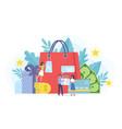 loyalty program marketing customer service tiny vector image