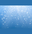 seasonal winter holiday background festiveal vector image