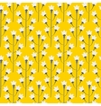Wild bluebell bright yellow flower spring field vector image vector image