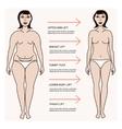 Body correction concept vector image vector image