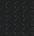 cold steel arms pattern vector image vector image