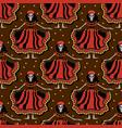 dia de los muertos calavera katrina seamless vector image