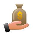 finance earnings icon vector image vector image