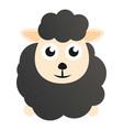 kid black sheep icon cartoon style vector image