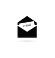 letter icon for mail vector image vector image