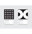 Minimal Propaedeutics Black and White Graphic vector image vector image