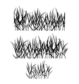 Realistic grass vector image