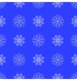 White Snowflake Seamless Pattern vector image vector image