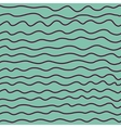 Sea wave ocean seamless pattern background vector image