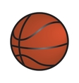 Basketball isolated vector image