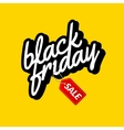 Black Friday Calligraphic lettering retro poster