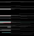 glitch elements set computer screen error vector image vector image