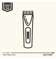 Hairdressing tools Icons series Trimmer vector image