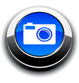 Photo 3d round button vector image vector image
