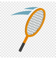 tennis racket isometric icon vector image vector image