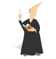 The priest vector image vector image