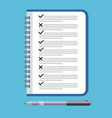 to do list icon design icon do list a checklist vector image