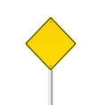 traffic sign color vector image vector image