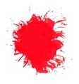 paint splash of brush strokes vector image