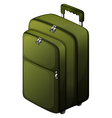 A travel baggage vector image