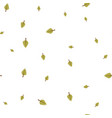birch leaf green pattern seamless vector image vector image