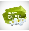 Happy Mothers Day label vector image