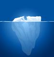 ice berg vector image vector image