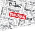 management word background broken paper vector image vector image