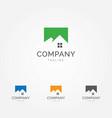 mountain house logo vector image